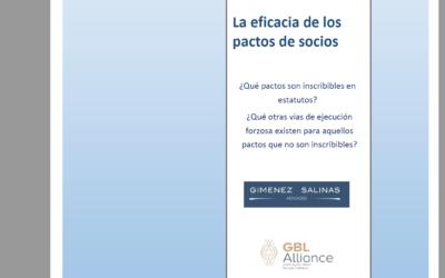 La Eficacia de los Pactos de Socios